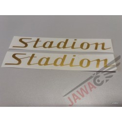 Nálepka STADION zlatá sada...