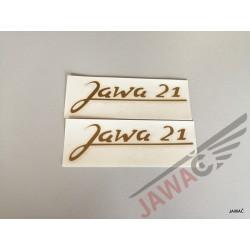 Nálepka JAWA 21