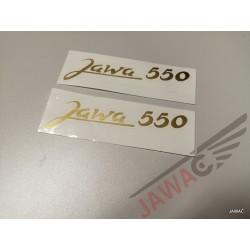 Nálepka JAWA 550