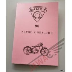 Návod k obsluze MANET 90