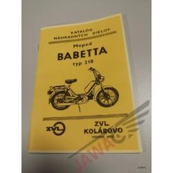 Babetta 210 Seznam ND